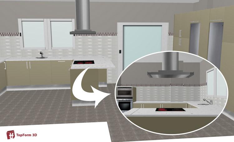 planificación y diseño de cocinas en cádiz